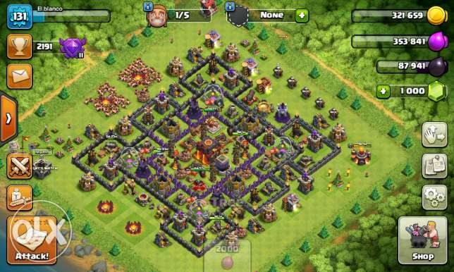 clash of clans TH 10 max
