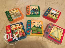 6 French books for 2-4 years
