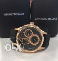 Classy original automatic Emporio black and rose gold (rare edition)