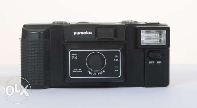 Yumeka old film camera 35 mm working in perfect condition