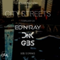 BO18 EDNRAY, GBS, DNK DJs on the 24th of Feb
