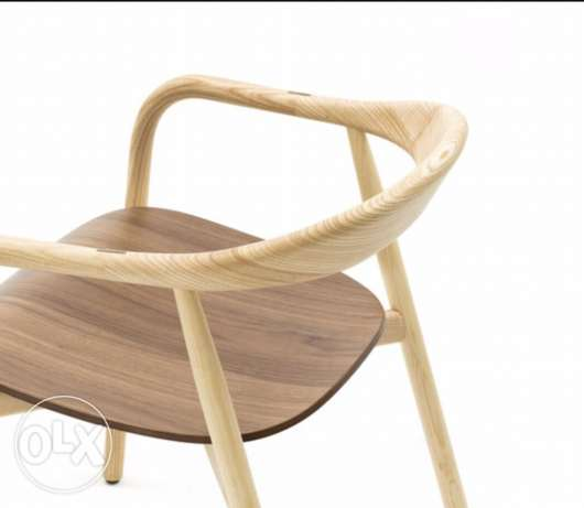 zeina12 Italian made chairs from walnut and ash wood. مار نقولا -  2