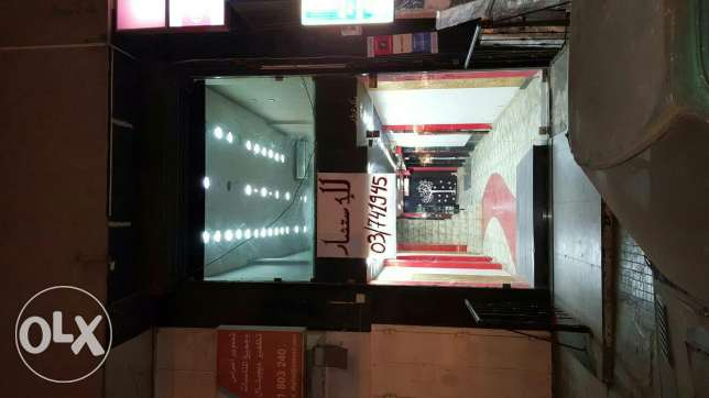 Shopp for rent includes decore& 4 ac مصطبة -  2