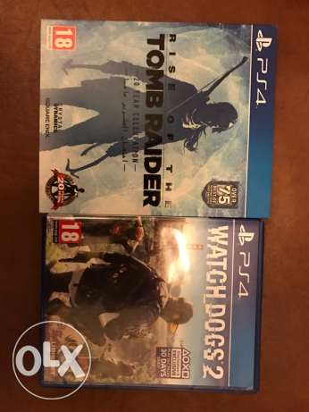 2 ps4 games in perfect condition