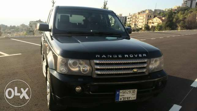 Range Rover 2007 Super charge أدما والدفنه -  4