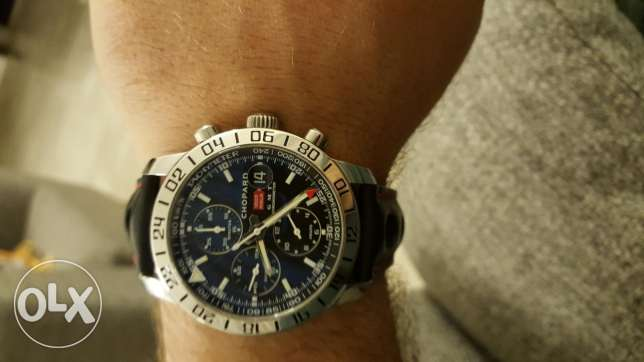 chopard watch 1000 miglia GMT