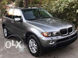 BMW X5 2004 full automatic 3.0 ( cyl 6 ) as new