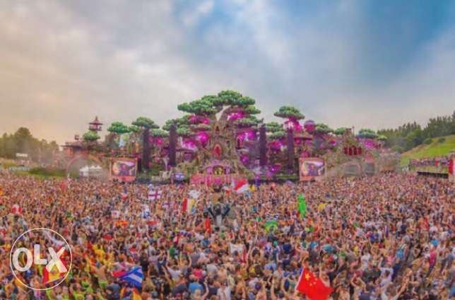 Tomorrowland Magnificent Package 2017 WeekEnd 2