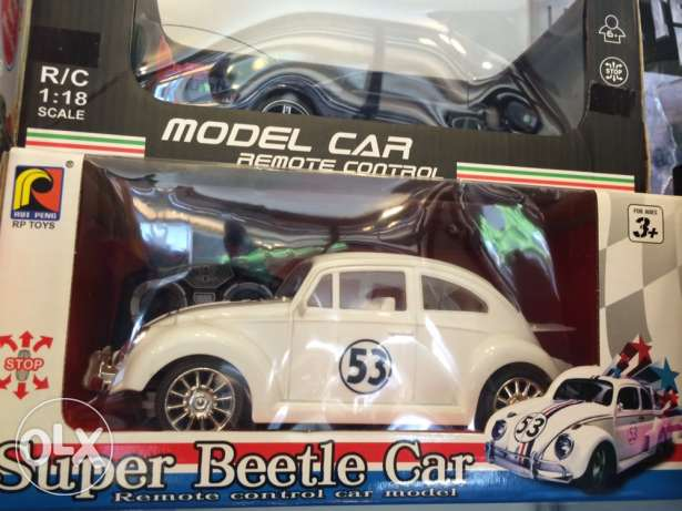 Brand New Remote Controlled Super Beetle Car