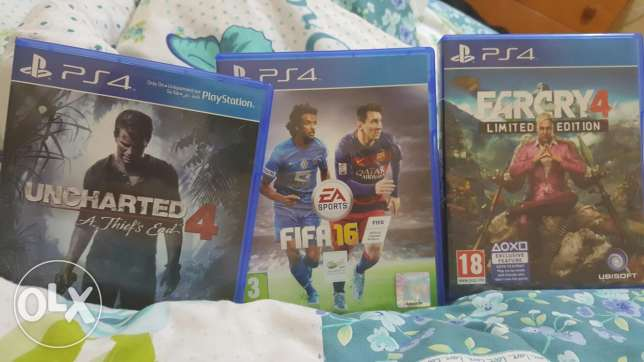 3 games for sale