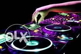 Sound and light systems for parties dj set