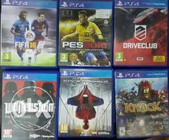 Ps4 used games like new