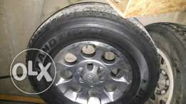 Fj rims with dunlop tires
