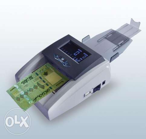 Money Counter & Detector POS machine USD & LBP & EUR NEW