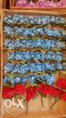 Artificial flowers stock European special