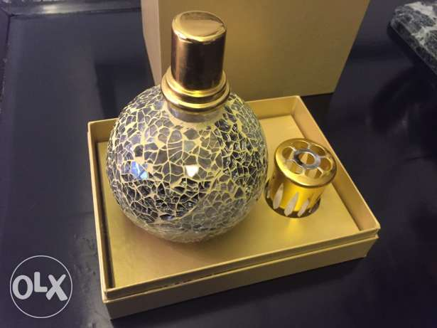 Patchi Oriental home perfume jar, full bottle