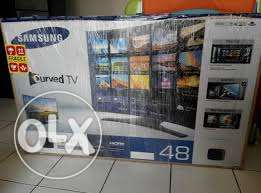 "samsung 48""inch curved smart television"