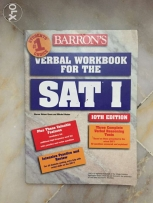 SAT barrons , verbal workbook