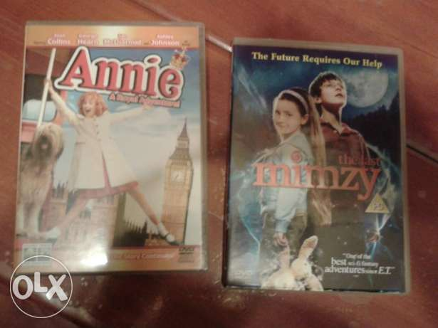 annie & the last mimzy original dvds