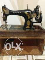 Antique: Old radio and sewing