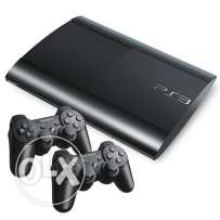Ps3 500 gb ndife ma3 2 masekten w 3 games gta 5 w call of duty w ...