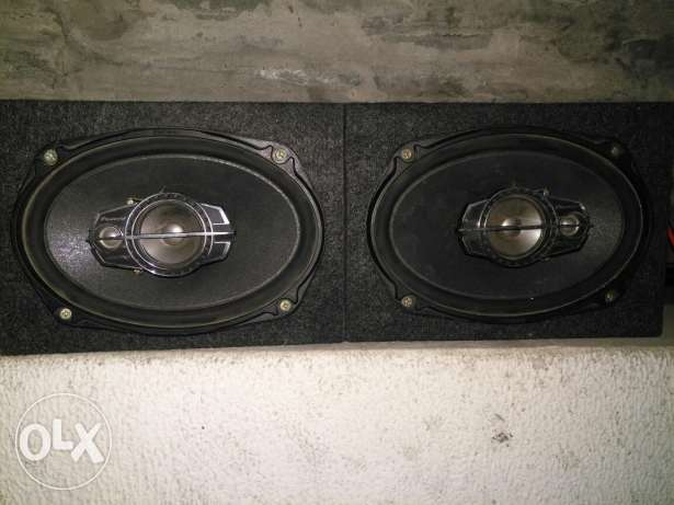 2 speakers pioneer 500w with box made in vietnam