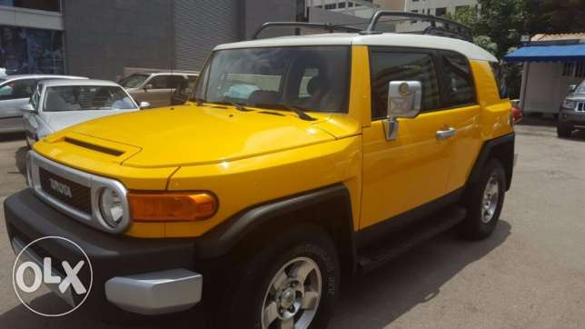 Toyota fj cruiser model 2008