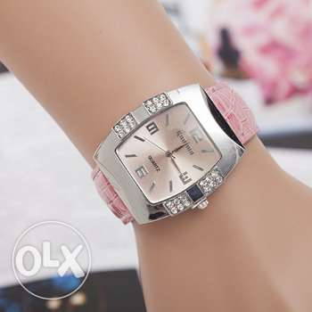 Women's wristwatch with rhinestones (4 colors - 4 pics) Free delivery
