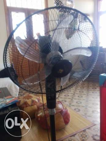 75 % discount on black fan