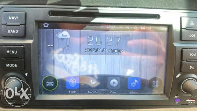 Bmw E46 android 7 inch navigation