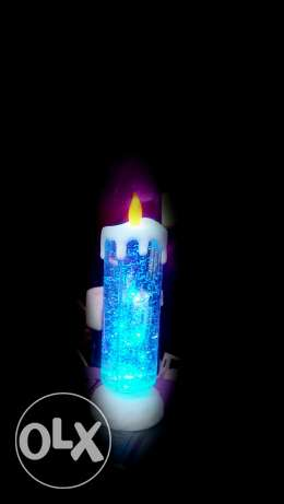 Christmas Colorful candle بعبدا -  2