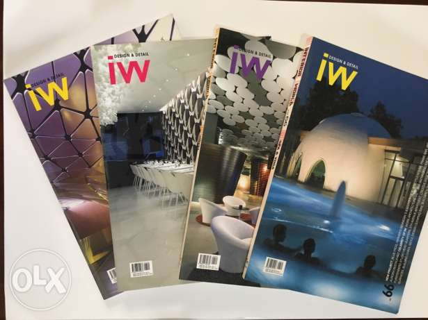 Interior World - 4 selected volumes