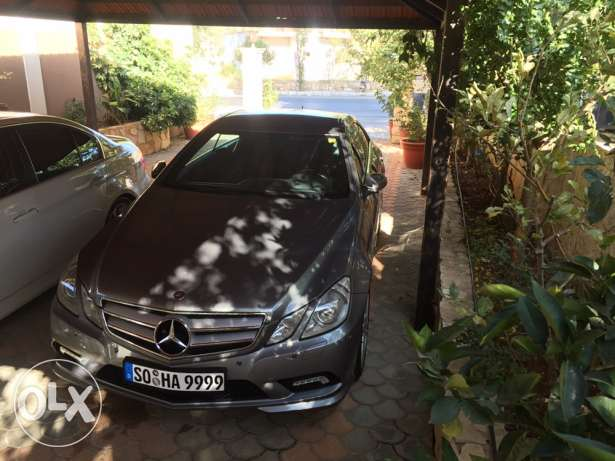 mercedes E350 coupe 2010 بنت جبيل -  1