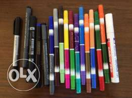 Markers all for 5$