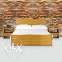 wooden tiles for wall decore
