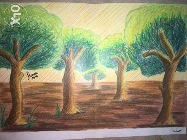 Natural beauty art picture