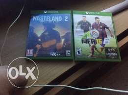 wasteland2 and fifa 15 for sale