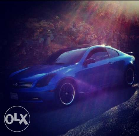infinity g35 coupe mod 2003 technology verry clean car. الشوف -  1