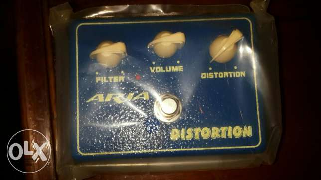 Aria Distortion pedal