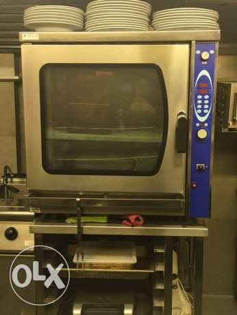 Convection & Steam Gas Oven
