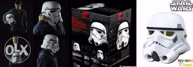 Star Wars The Black Series Imperial Stormtrooper Electronic Voice Chan