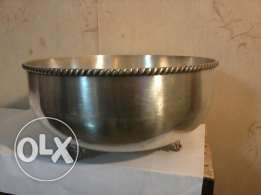 Antique English Bowl, Silver, 1.9KG, 35x20cm, Like New, 100$