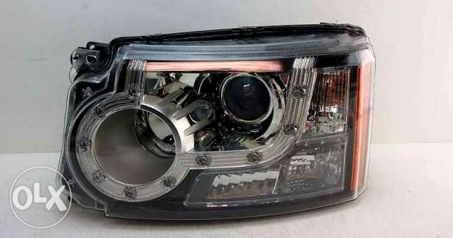 Halogen light lamp front right and left land rover lr4