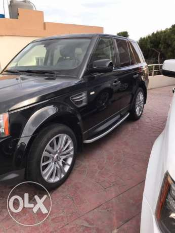 RANGE ROVER HSE 2011 luxury black/black