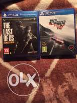 The last of us and need for speed rivals