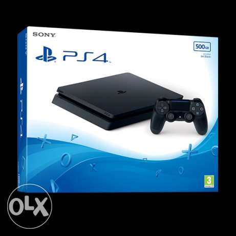 PS4 Slim 500gb (not used)