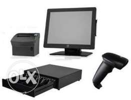 POS system software + hardware