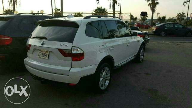 Bmw X3 3.0si full options 2008 ajnabieh very clean new arrival الروشة -  5