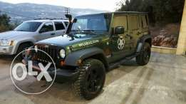 Wrangler RUBICON color Green Army