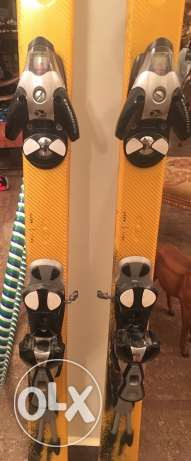Salomon 187 skis with bindings انطلياس -  3